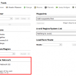 Use jump bridge networks in the route planer